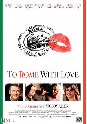 Poster_dk To Rome With Love