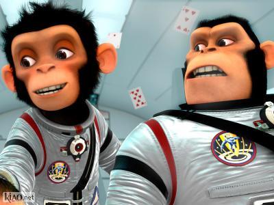 Extrait Space Chimps