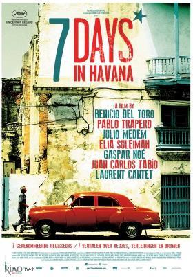 Poster_nl 7 días en La Habana