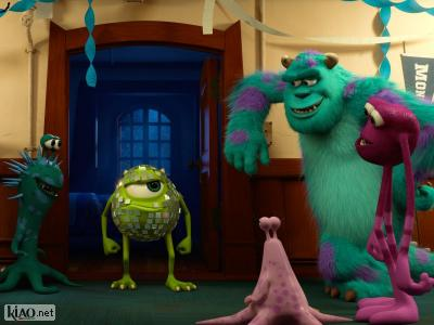 Extrait Monsters University