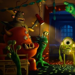 Image Monsters University - Dubbed Version