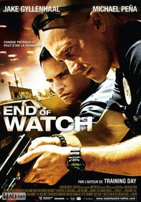 Poster_fr End of Watch