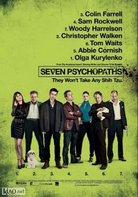 Poster_nl Seven Psychopaths