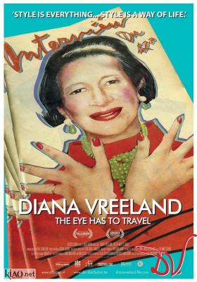 Poster_nl Diana Vreeland: The Eye Has to Travel
