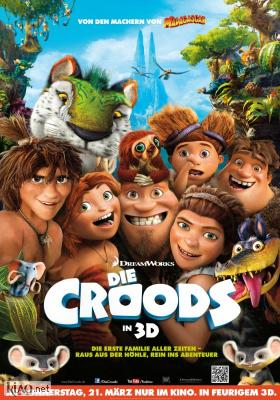 Poster_de The Croods