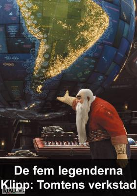 Poster_se Rise of the Guardians XTRA: Santa's Toy Factory