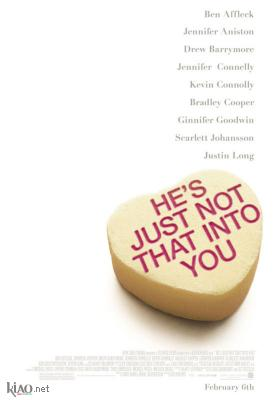 Poster UK He's Just Not That Into You
