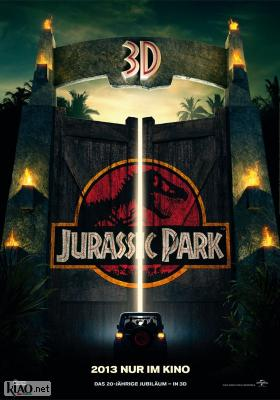 Poster_de Jurassic Park 3D