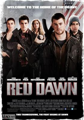 Poster_uk Red Dawn