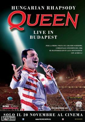 Poster_it Hungarian Rhapsody: Queen Live in Budapest