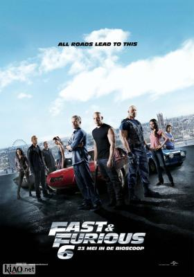 Poster_nl Fast & Furious 6