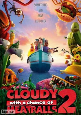 Poster_nl Cloudy with a Chance of Meatballs 2