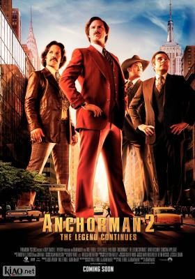 Poster_se Anchorman 2