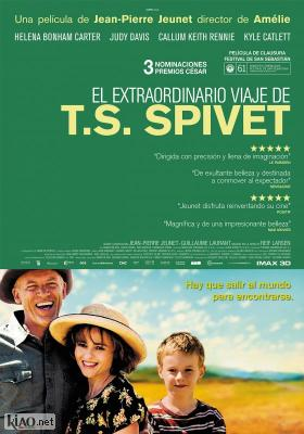Poster_es The Young and Prodigious T.S. Spivet