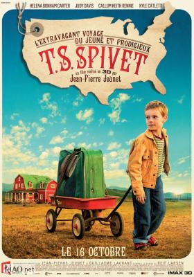 Poster_fr The Young and Prodigious T.S. Spivet