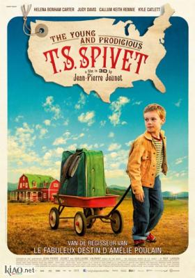 Poster_nl The Young and Prodigious T.S. Spivet