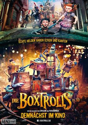 Poster_de The Boxtrolls