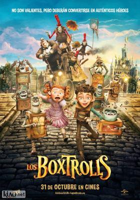 Poster_es The Boxtrolls
