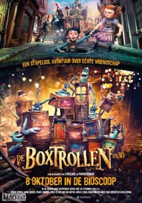 Poster_nl The Boxtrolls