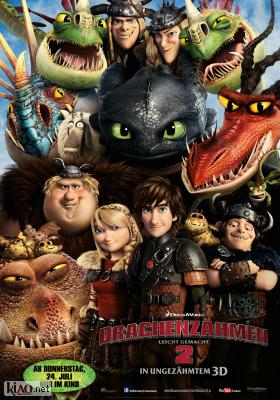 Poster_de How to Train Your Dragon 2