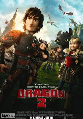 Poster_uk How to Train Your Dragon 2