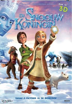Poster_nl De Sneeuwkoningin 3D