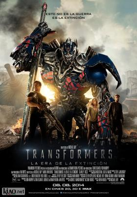Poster_es Transformers: Age of Extinction