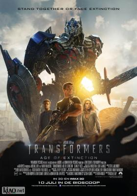 Poster_nl Transformers: Age of Extinction
