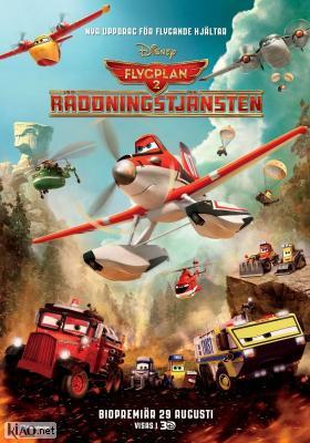 Poster_se Planes: Fire & Rescue