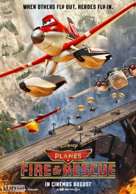 Poster_uk Planes: Fire & Rescue