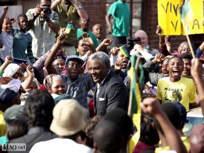 Extrait Mandela - Mandelas release