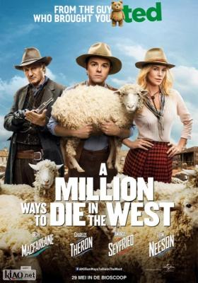 Poster_nl A Million Ways to Die in the West