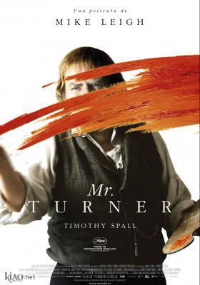 Poster_es Mr. Turner