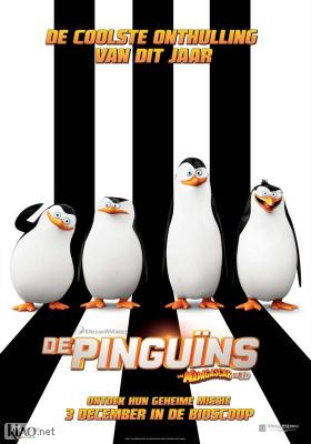 Poster_nl The Penguins of Madagascar