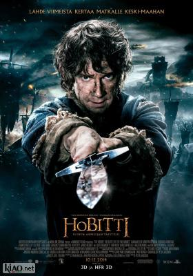 Poster_fi The Hobbit: The Battle of the Five Armies