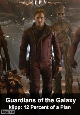 Poster_se Guardians of the Galaxy XTRA 12 PERCENT OF A PLAN