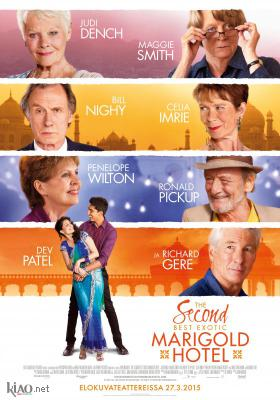 Poster_fi The Second Best Exotic Marigold Hotel