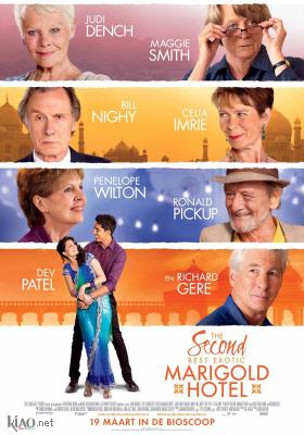 Poster_nl The Second Best Exotic Marigold Hotel