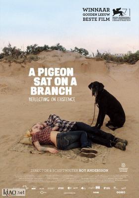 Poster_it En duva satt på en gren och funderade på tillvaron