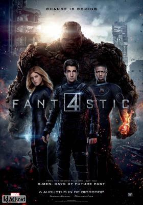 Poster_nl Fantastic Four (2015)
