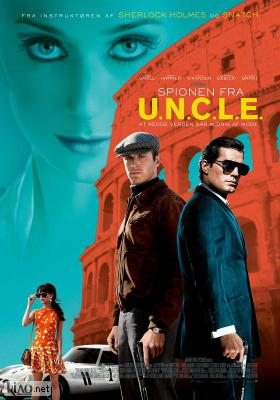 Poster_dk The Man from U.N.C.L.E.