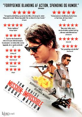 Poster_dk Mission: Impossible - Rogue Nation