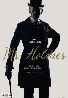 Poster UK Mr. Holmes