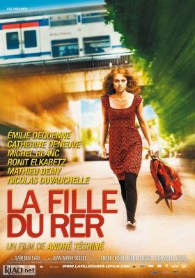 Poster_nl La fille du RER
