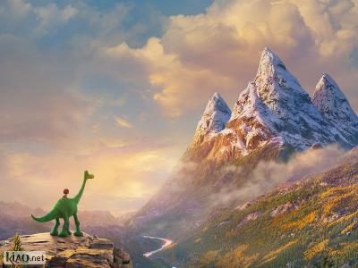 Extrait The Good Dinosaur