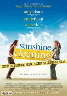 Poster_es Sunshine Cleaning