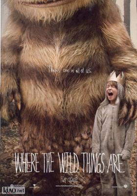 Poster UK Where the Wild Things Are