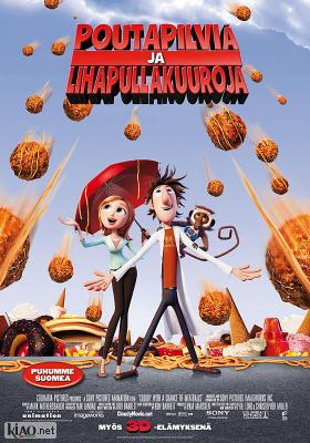 Poster_fi Cloudy with a Chance of Meatballs