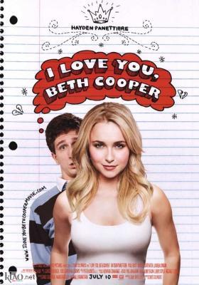 Poster UK I Love You Beth Cooper