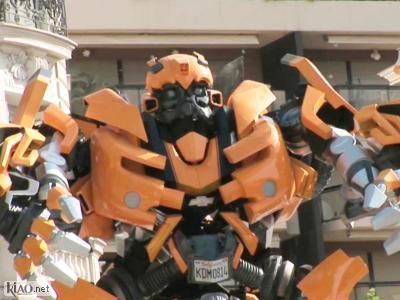 Extrait Transformers: Revenge of the fallen XTRA: Cannes